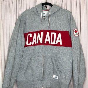 Hudson Bay Company Olympic Canada Zip sweatshirt